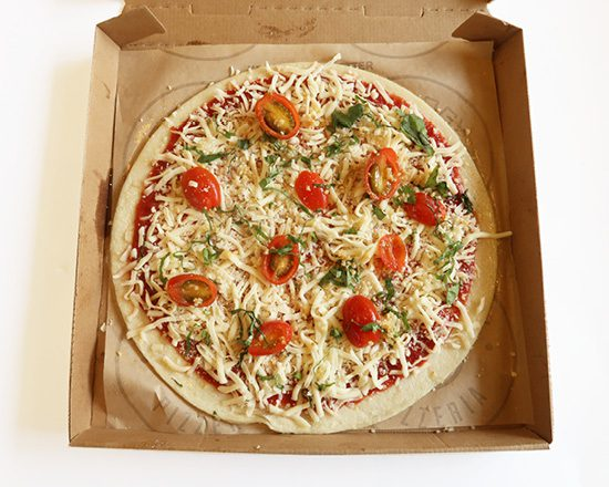 Pieology Bake at Home Margheria Pizza
