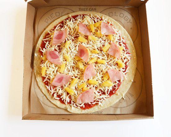 Pieology Bake at Home Hawaiian Pizza