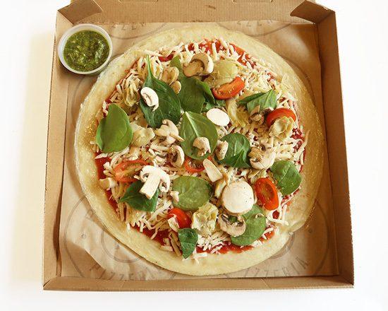 Pieology Bake at Home Veggie Pesto Pizza