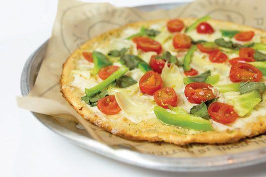 GF Cauliflower Pizza (Gluten Free, Vegetarian Friendly)