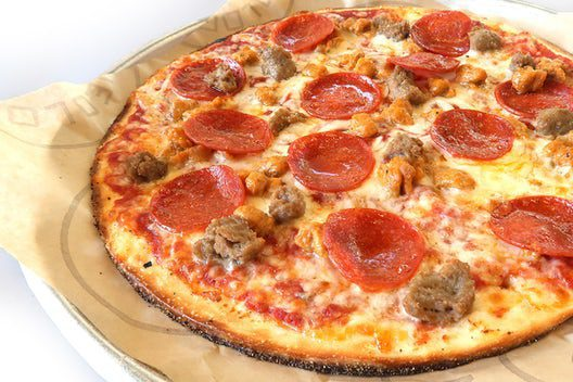 Pieology Mega Meat Pizza