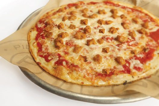 Pieology Sausage Pizza