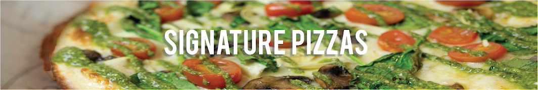 Pieology Signature Pizzas