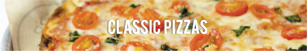 Pieology Classic Pizzas